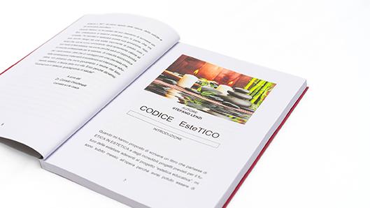 libro aperto codice estetico